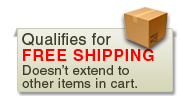 Qualifies for free shipping. Does not extend to other items in the cart.